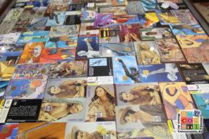 coleccion de tarjetas telefonicas en el mucoti