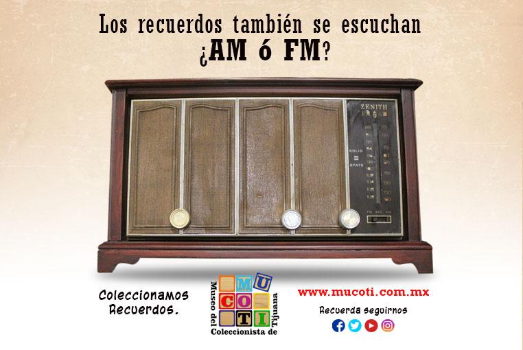 radio an fm zenith museo del coleccionista de tijuana